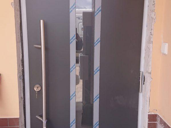 Drzwi Hormann wzór 700 kolor. antracytowy