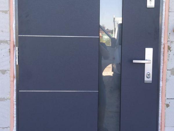 Drzwi firmy Gerda - kolor.antracytowy