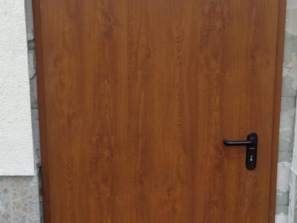 Drzwi przeciwpożarowe EI30 Hormann kolor. Złoty Dąb